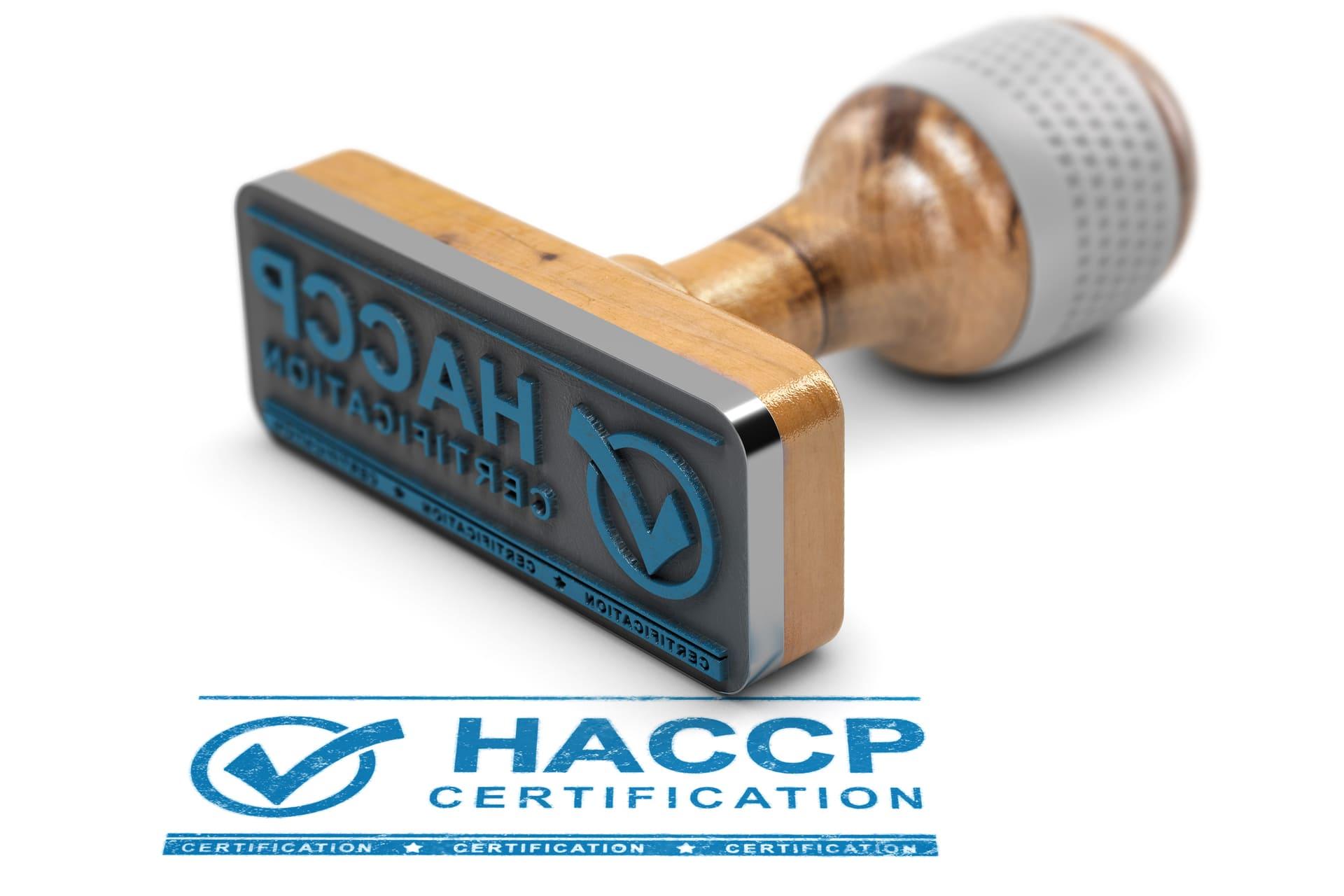 HACCP Zertifikat